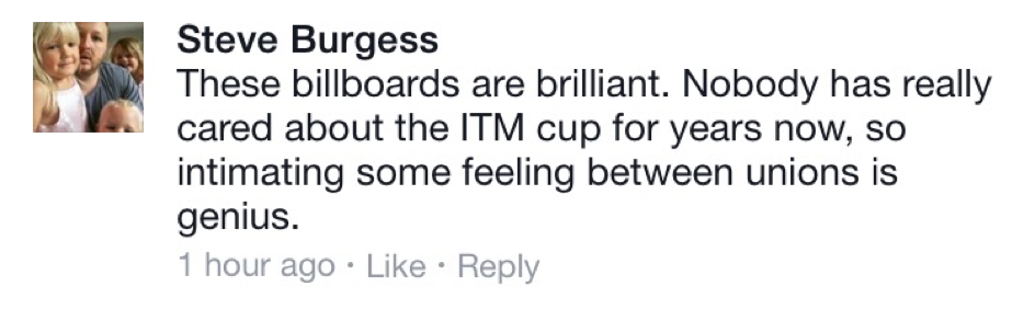 ITM Cup Commentry